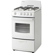 "Danby DR201WGLP- Gas Range, 20""W, 110V, 2.4 Cu. Ft. Oven Capacity, With Door Window"