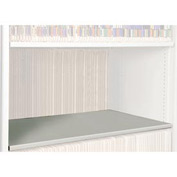 Rotary File Cabinet Components, Legal Depth Flat Shelf, Bone White