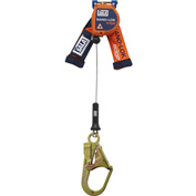 Nano-Lok™ 3500248 8' Quick Connect Self Retracting Lifeline, Galvanized Cable