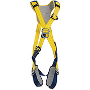 DBI-SALA® Delta™ Comfort Cross-Over Style Climbing Harness, Quick Connect, XL