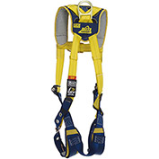 DBI-SALA® Delta™ Comfort Vest-Style Climbing Harness, Tongue Buckle & Pass Thru, L