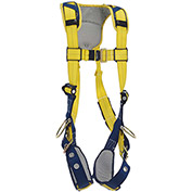 DBI-SALA® Delta™ Comfort Vest-Style Positioning Harness, Tongue Buckle & Pass Thru, M