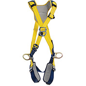 DBI-SALA® Delta™ Comfort Cross-Over Style Positioning/Climbing Harness, Quick Connect, L