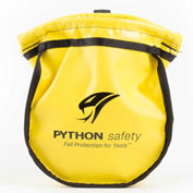Python® 1500122 Small Parts Pouch - Vinyl Yellow