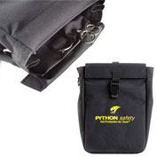 Python® 1500128 Tool Pouch Extra Deep With D-Ring And Retractors (2)