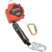 PROTECTA™ Rebel™ Self Retracting Lifeline - 20 ft. Web, Snap Hook & Carabiner - 3100431