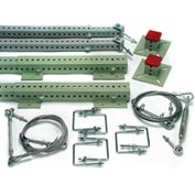 Rack Hardware, Extension Starter Kit, Flush Mount