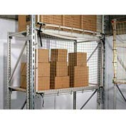 "Rack Guard Net, 16'LX16'4""H GR FR, #245, #84 Frame"