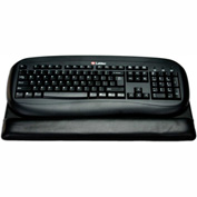 DACASSO® Classic Black Leather Keyboard Pad
