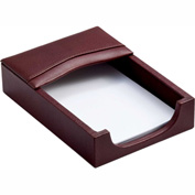 DACASSO® Mocha Leather 4 x 6 Memo Holder