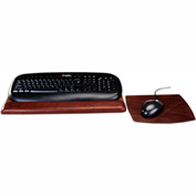 DACASSO® A3044 Leather Mouse/Keyboard Pad, Mocha