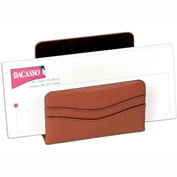 DACASSO® Tan Leather Letter Holder