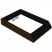 DACASSO® Two-Tone Leather Legal Tray