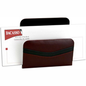 DACASSO® Two-Tone Leather Letter Holder