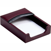 "DACASSO® Two-Tone Leather 4"" x 6"" Memo Holder"