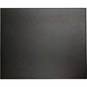 "DACASSO® Dacasso Colors Faux Leather 17"" x 14"" Table Mat - Midnight Black"
