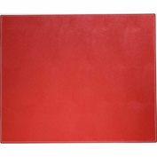 "DACASSO® Dacasso Colors Faux Leather 17"" x 14"" Table Mat - Rossa Red"