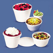 Dart DCC 8SJ20 Foam Containers, 8 oz. Capacity, 1000 Qty.