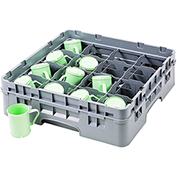 Cambro 16 Comp. Cup Racks, Full Size, 4.25