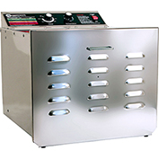 "The Sausage Maker D-10 Food Dehydrator with 1/4"" Stainless Steel Shelves Stainless Steel 32609"