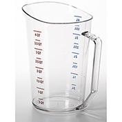 Cambro Camwear Measuring Cups, 4 Quarts, 1PK Clear 400MCCW-135