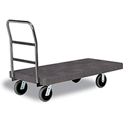 "Continental® Utility Platform Truck 5875 - 30 x 60 - 5"" Casters"