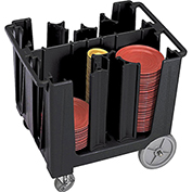 Cambro Adjustable Dish Caddy Black ADCS-110