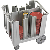 Cambro Adjustable Dish Caddy Speckled Gray ADCS-480