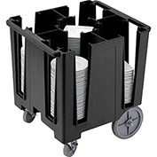 "Cambro Versa Dish Caddy, Maximum Plate Size: 9-1/2"" Black DCS950-110"