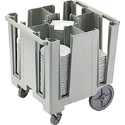 "Cambro Versa Dish Caddy, Maximum Plate Size: 9-1/2"" Speckled Gray DCS950-480"