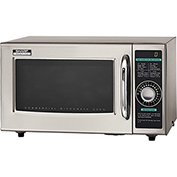 Sharp Medium Duty Commercial Microwave Oven, Dial Timer, 1000 W Gray R-21LCF