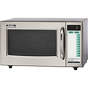 Sharp Medium Duty Commercial Microwave Oven, 3 Stage Cooking, 1000 W Stainless Steel R-21LTF