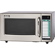 Sharp Medium Duty Commercial Microwave Oven, Programmable, 1000 W Stainless Steel R-21LVF