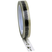 "ESD Tape Clear With Symbols 3/4"" x 72 Yds 3"" Plastic Core"