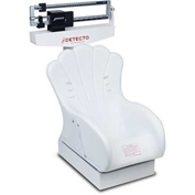 "Detecto 459 Baby Scale 40lb x 1/2oz/17.5kg x 0.01kg, Mechanical W/ 22"" x 14-3/4"" x 4-1/2"" Tray"