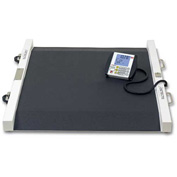 Detecto 6500 Digital Wheelchair Scale 800lb x 0.2lb/ 360kg x 0.1kg W/ Wheels & Built In Ramps