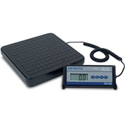 Detecto DR400 Digital Receiving Scale 400lb x 0.5lb/181kg x 0.2kg Battery Powered