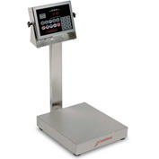 Detecto EB-150-210 NTEP Digital Bench Scale 150lb x 0.05lb/ 60kg x 0.02kg Splash Proof