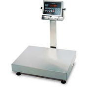 Detecto EB-300-210 NTEP Digital Bench Scale 300lb x 0.1lb/ 150kg x 0.05kg Splash Proof