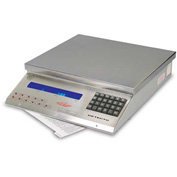 Detecto MSB-25 Digital Mail Scale 25lb x 0.005lb Stainless Steel