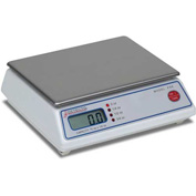 "Detecto PS-6A Digital Portion Scale 70oz x 1/4oz 6-3/4"" x 5-1/4"" SS Platform"