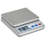 "Detecto PS4 NSF Digital Portion Scale 4lb x 0.1oz/ 2000g x 1g 5-7/8"" x 4-3/4"" Platform"