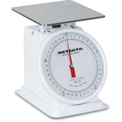 "Detecto PT-5 Top Load Scale 5lb x 1/2oz W/ Enamel Finish, 6"" Fixed Dial, 5-3/4"" Square Platform"