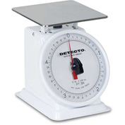 "Detecto PT-5R Top Load Scale 5lb x 1/2oz W/ 6"" Rotating Dial, 5-3/4"" Square Platform"