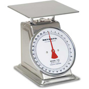 "Detecto T-25 Top Load Scale 25lb x 1oz Enamel Finish W/ 8"" Fixed Dial, 9"" x 9"" SS Platform"