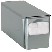 Dispense-Rite Countertop Low Fold Napkin Dispenser 1 Sided