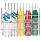 Dispense-Rite Surface Mounted Wire Cup Caddy