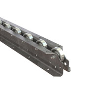 "Omni Metalcraft Straight Flow Rail FRWL1.94-3-3-10 - Channel 2-13/16"" OAW - 4 WPF 3"" Axle Centers"