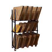 3 Tier Carton Rack