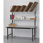 """68"""" x 33"""" Basic Packing Bench With Edging"""